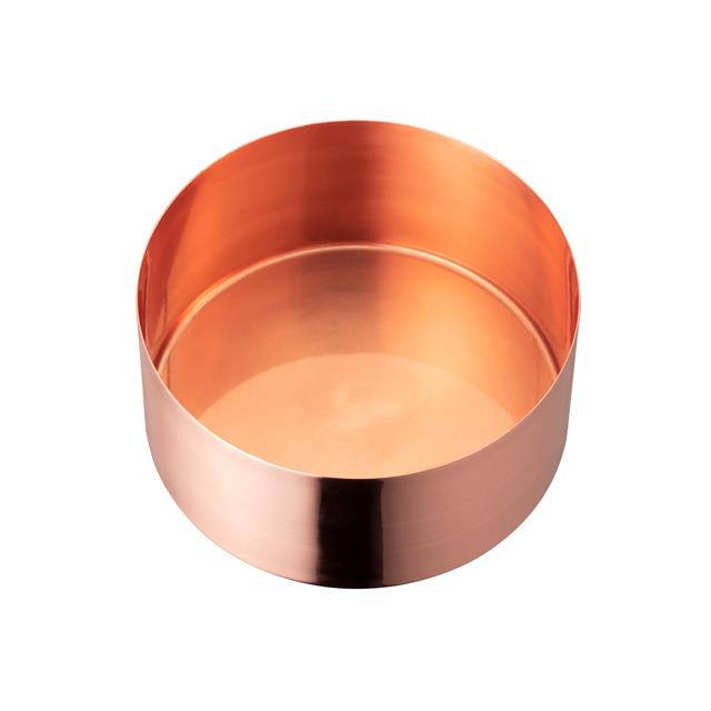 茶論 建水 銅