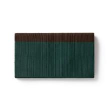 深緑×焦茶