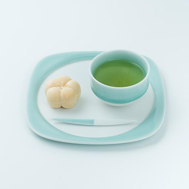 鍋島虎仙窯 鍋島青磁 菓子切