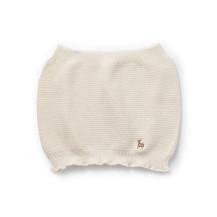 鹿の子編みの無縫製ベビー腹巻き