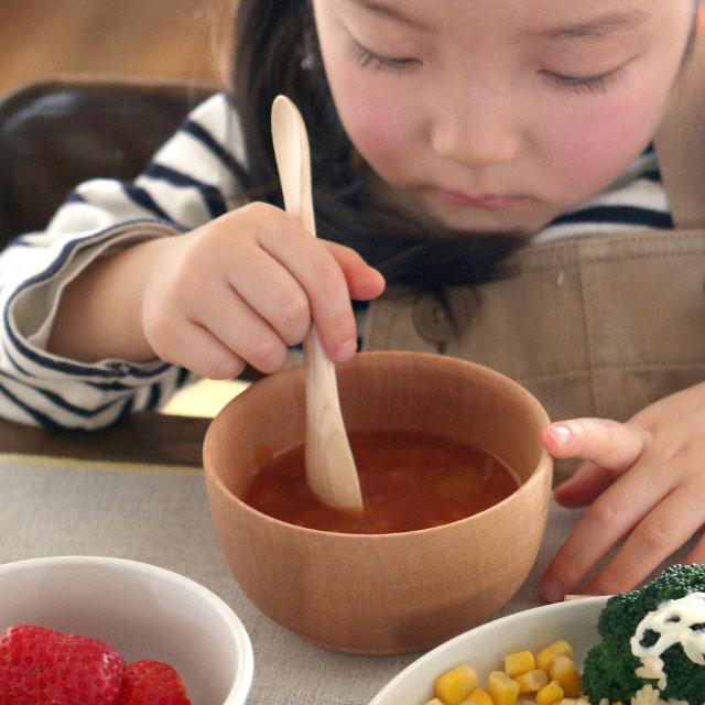 親子のための汁椀 ハンノキ