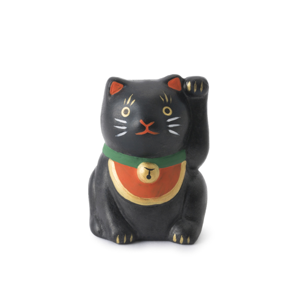 福招き猫みくじ 黒猫