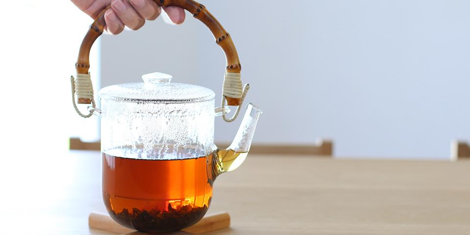 心もほっと、お茶を淹れる時間
