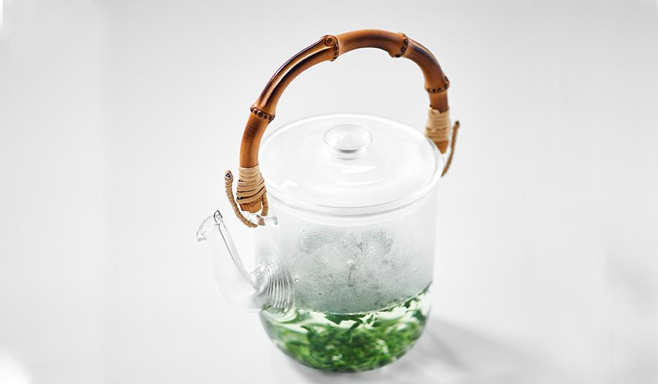 さまざまなお茶が似合う耐熱硝子の多用急須