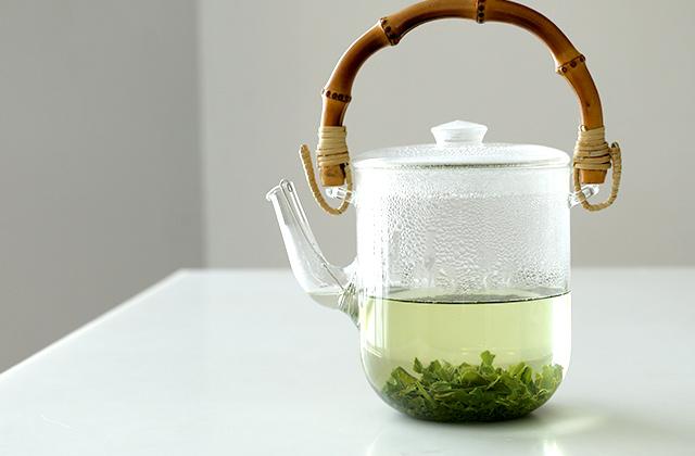 日本茶は茶葉が 膨らむ横幅