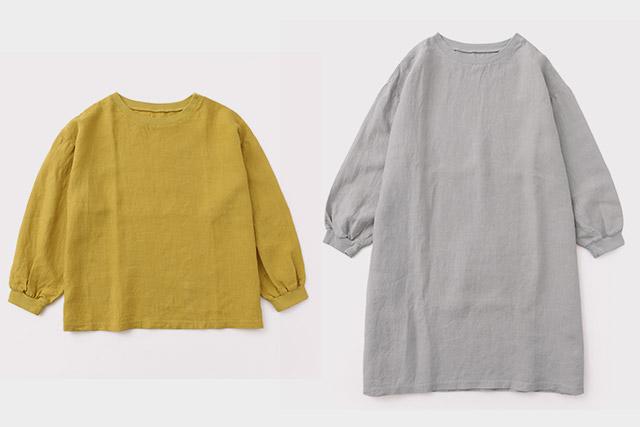 秋口にも着回せる  麻布Tシャツに長袖ができました
