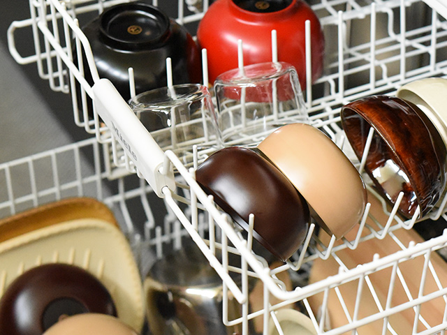 食洗機で洗える、 丈夫な漆椀