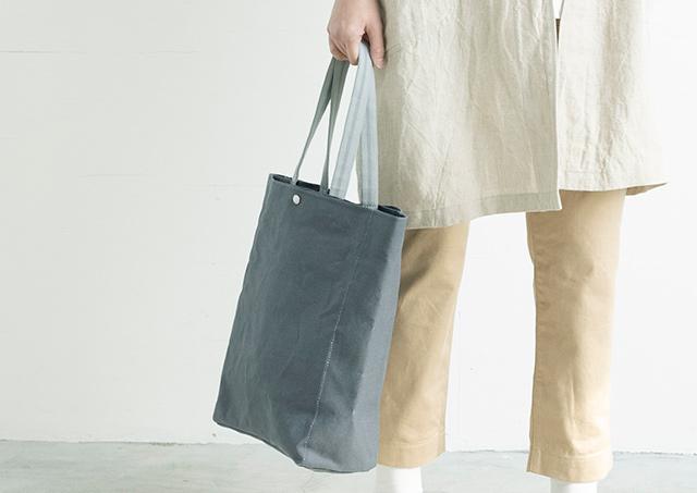 【工芸の解剖学】リネン帆布の真田紐トートバッグ