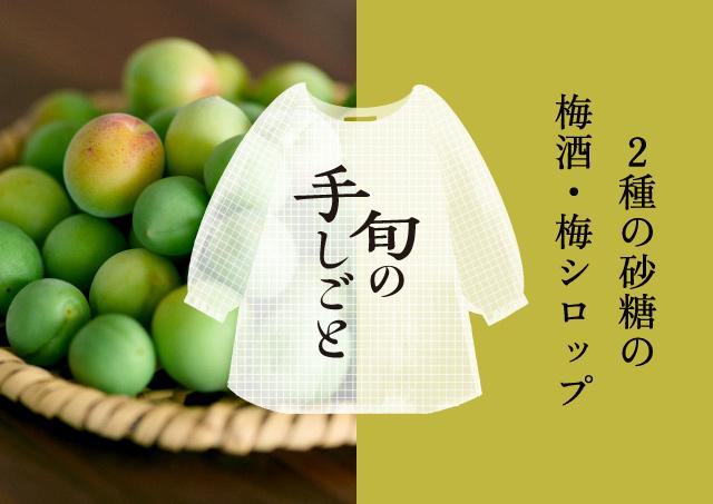 旬の手しごと 梅