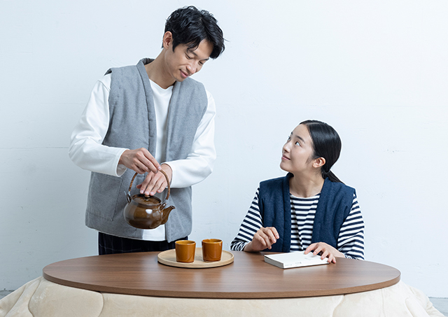 日本の定番着「ちゃんちゃんこベスト」