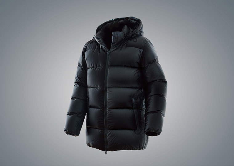 THE MONSTER SPEC? DOWN JACKET BLACK