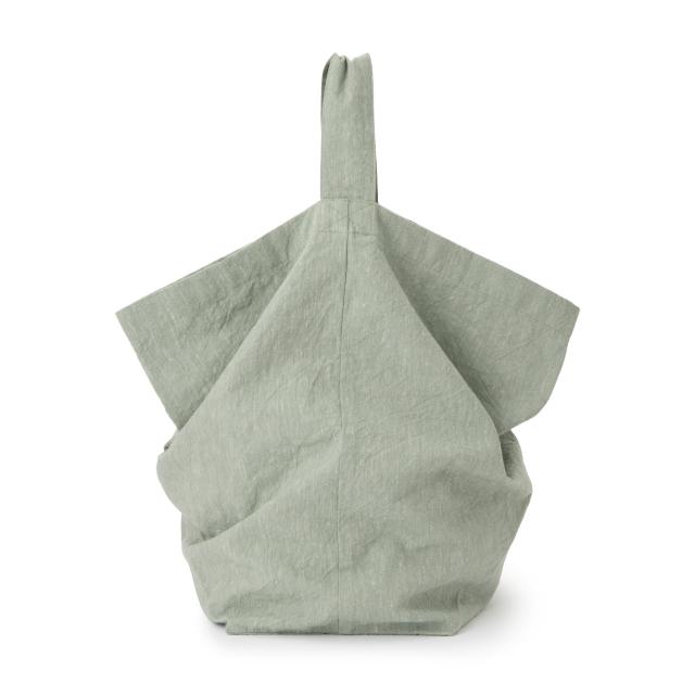 綿麻生地のショルダーバッグ