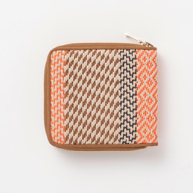 二つ折り財布 テープ編織