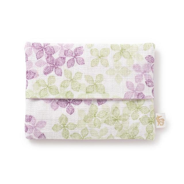 ティッシュケースポーチ 紫陽花