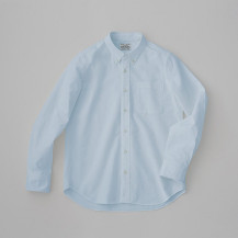 THE SHIRTS Botanical dye LIGHT BLUE