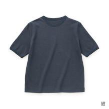 綿麻鹿の子Tシャツ M