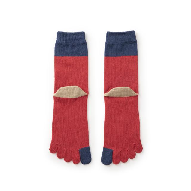 やわらかな5本指靴下 女性用