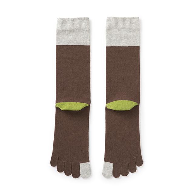 やわらかな5本指靴下 男性用