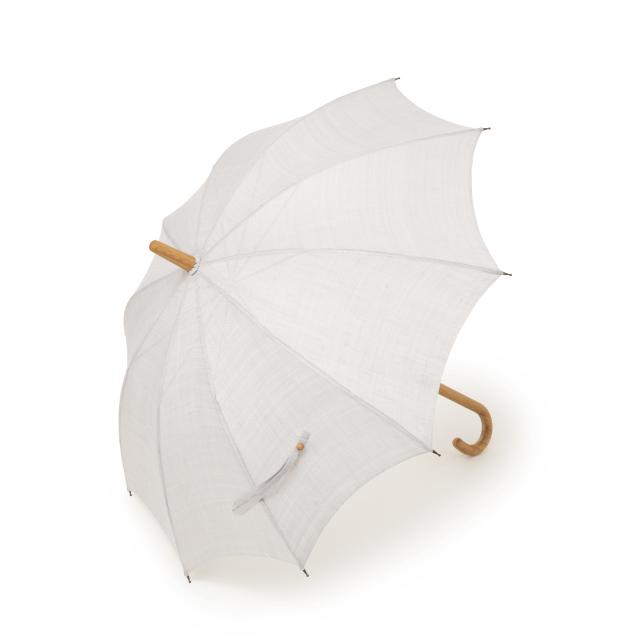 日傘 手織り麻