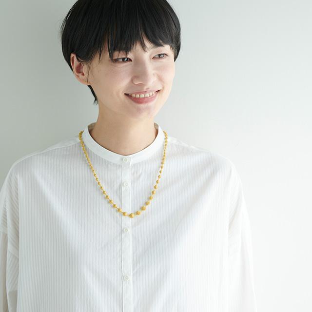 000(トリプル・オゥ) 中川政七商店別注 ネックレス スフィア B 60cm
