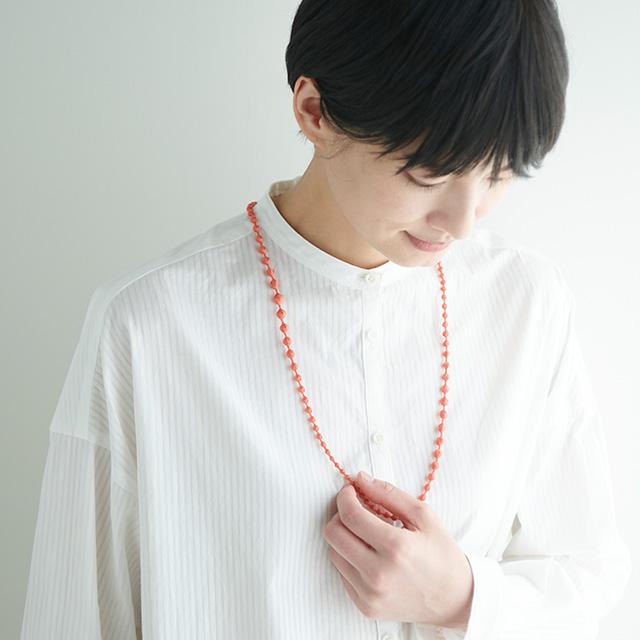 000(トリプル・オゥ) 中川政七商店別注 ネックレス スフィア C 80㎝