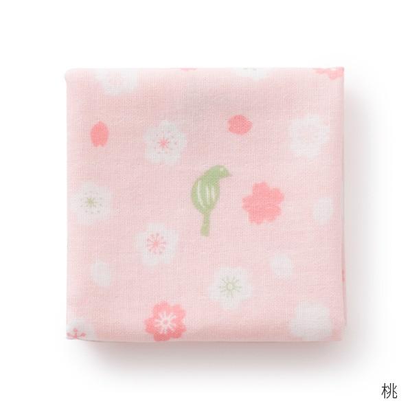 千代布 桜にうぐいす