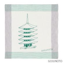 【刺繍サービス付き】motta×ワイズベッカーハンカチ motta011