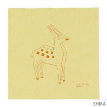 【刺繍サービス付き】motta×ワイズベッカーハンカチ motta012