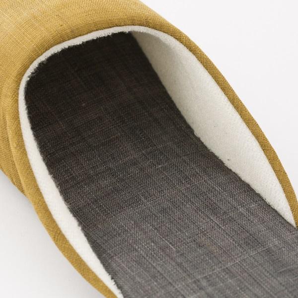 スリッパL 手織り麻