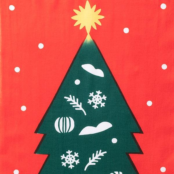 注染手拭い クリスマスツリー