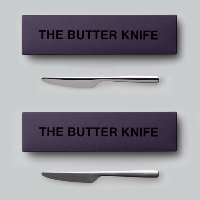 THE BUTTER KNIFE Gift box