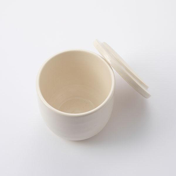 かもしか道具店 陶の飯びつ こぶり