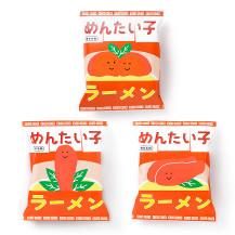 めんたい子ラーメン 3パックセット