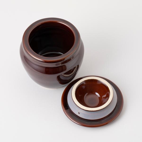 特選奈良吉野昔ながらの林州梅干し 卓上壺セット