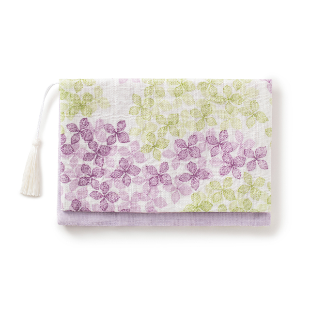 懐紙入れ 紫陽花
