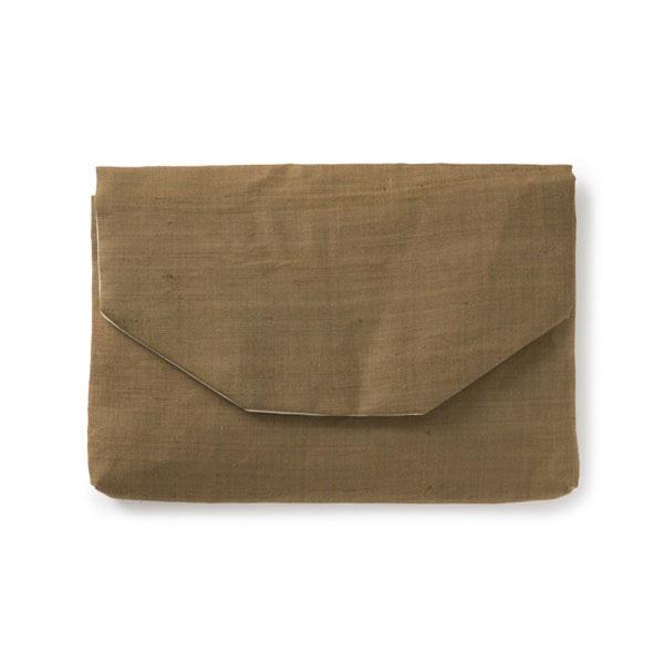 茶論 数寄屋袋 手織麻