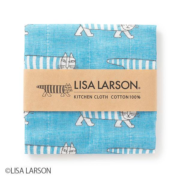 LISA LARSON ふきん マイキー/ブルー・ハリネズミ/イエロー・スパニエル/グリーン
