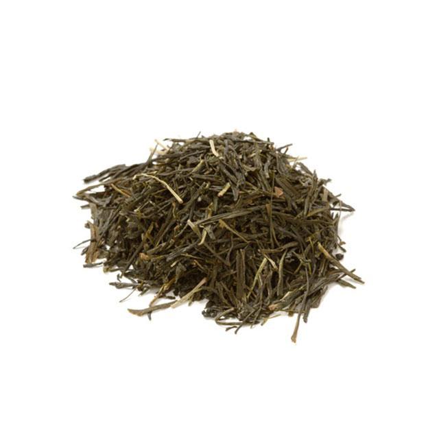 一番摘み有機月ヶ瀬煎茶・一番摘み有機月ヶ瀬ほうじ茶・麻の葉もなか