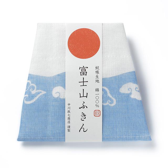 よく吸ってすぐ乾く 花ふきん ツバキ・かや織ふきん 松竹梅・富士山ふきん