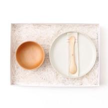 親子のための平皿・親子のための汁椀・ずっと使えるベビースプーン
