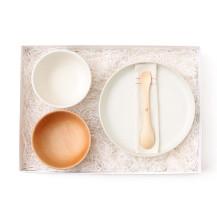 親子のための平皿・親子のための飯碗・親子のための汁椀・ずっと使えるベビースプーン