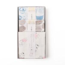 猫村さんのふきん お手入れいろいろ・かや織ふきん 籠物・かや織ふきん 焼物