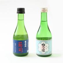 【WEB限定】奈良の酒くらべ(菊司醸造 純米吟醸 菊司 300ml・梅乃宿酒造 純米 梅乃宿 300ml)