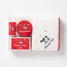 カウブランド赤箱コラボ お顔の蒸しタオルセット